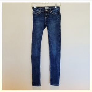 Aeropostal Jeans Pants Dark Blue Wash Skinny Long